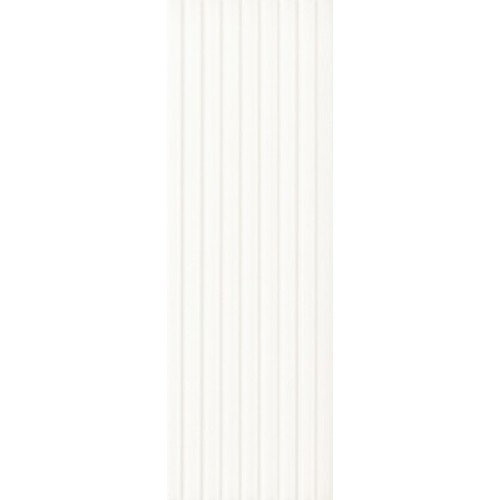 25x75 Elanda Bianco Stripes Structura Rekt, plytelė