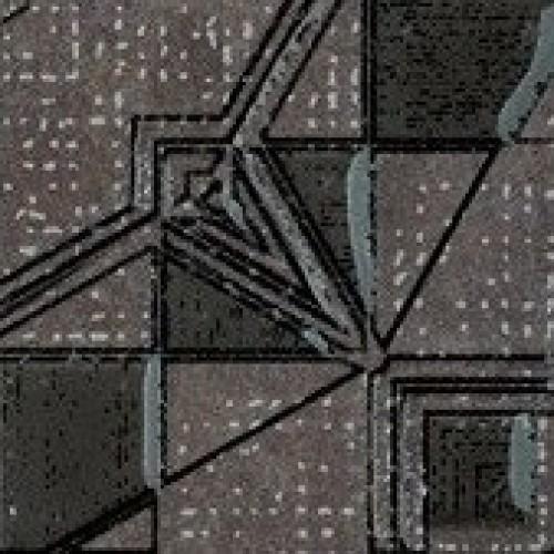 7,25x7,25 Lensitile Grafit,  akm. m. kampas