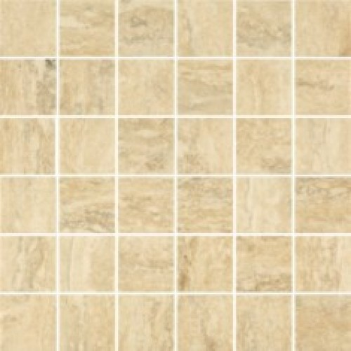 29.8x29.8 Travertino Silver Mozaika B lappato (4.8*4.8), akm. m. mozaika