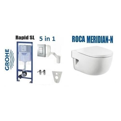 GROHE Rapid SL 5 in 1 + ROCA MERIDIAN